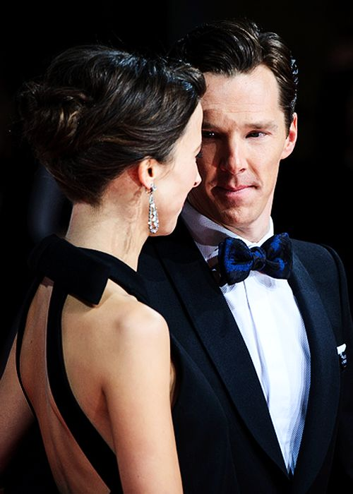 """Benedict Cumberbatch and Sophie Hunter attend the EE BAFTA British Academy Film Awards at the Royal Opera House on February 8, 2015 in London, England (x)"""