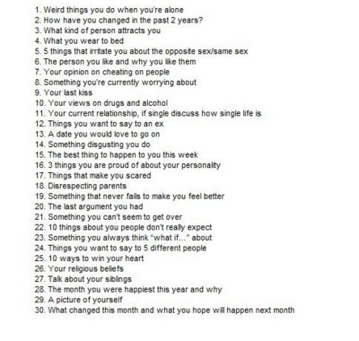 20 Questions To Ask A Person