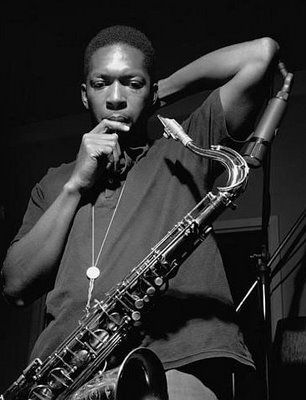 John Coltrane...one of the reasons I learned to play the saxophone.                                                                                                                                                     More