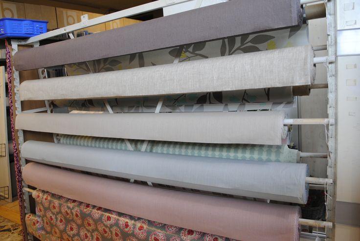 abwischbare Leinen Wachstücher in schönen Pastell-Farben für Garten, Terrasse und Balkon