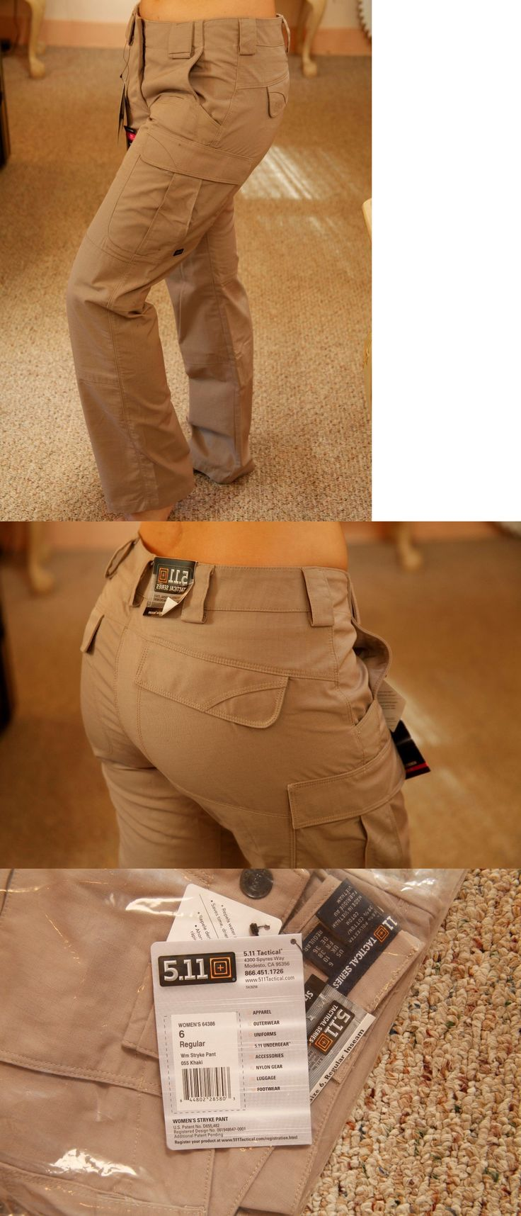 Tactical Clothing 177896: 511 Tactical Stryke Pant Women 6 Regular Khaki Tan Beige Cargo Nwt -> BUY IT NOW ONLY: $58 on eBay!