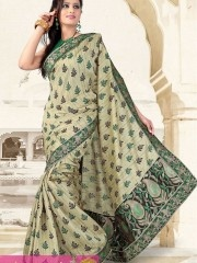 Bandhej sarees:- Eye catching Golden zari work and Turquoise green Printed color bandhej saree with stylish golden and Embroidery zari pallu and all over amazingly embellished gleaming golden zari work of beads, sequins, cutdana spread your charm everywhere.Saree is ready to make you look apart in crowd.  $35.74 matwali.com