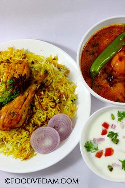 Hyderabadi chicken biryani is the world famous recipe.No person can go back without tasting authentic hyderabadi biryani when he visits Hyderabad.The spi...