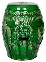 Chinese Dragon Stool by Safavieh at Gilt