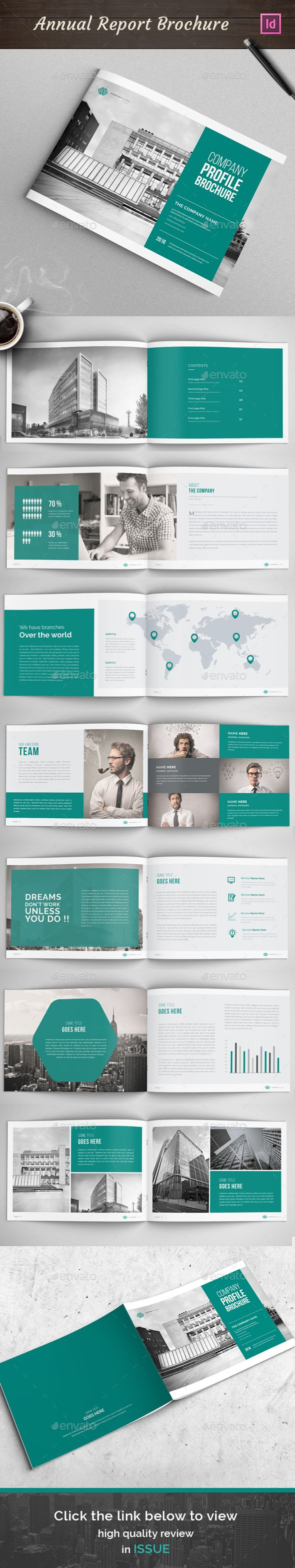 Annual Report Brochure Template InDesign INDD. Download here: http://graphicriver.net/item/annual-report-brochure-02/15502792?ref=ksioks