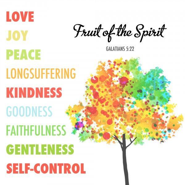 52 best Fruit of the Spirit images on Pinterest  : 45265cf7c40fbde385f528c31e5e3cd1 faith bible verses bible scriptures from www.pinterest.com size 600 x 600 jpeg 110kB