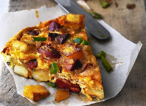 Perfect for a picnic: Spanish tortilla is is just as nice served cold as it is hot
