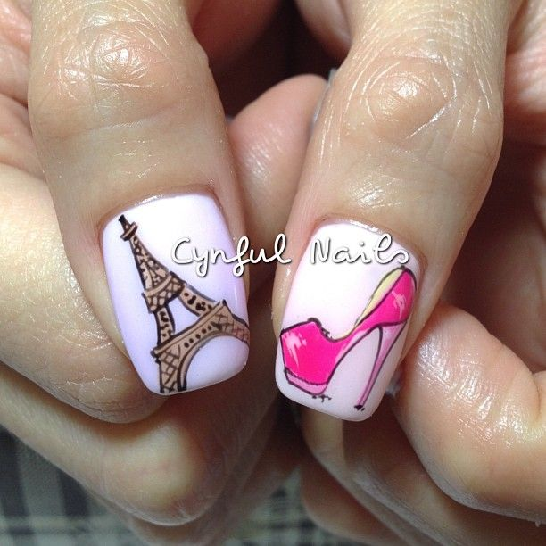 Instagram photo by cynfulnails   #nail #nails #nailart