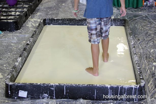 Running on Oobleck. . .This would work well for Day 2.  About Family and Friends helping us stay afloat.