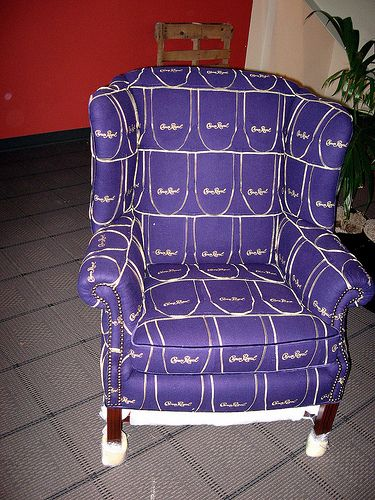 The Crown Royal Chair