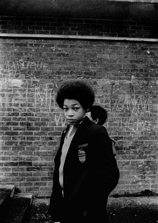 Tulse Hill School, Brixton, London 1976.