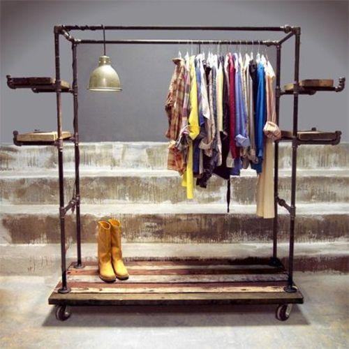 kleiderst nder selber bauen 25 diy garderobenst nder limburger pinterest dekoration diy. Black Bedroom Furniture Sets. Home Design Ideas