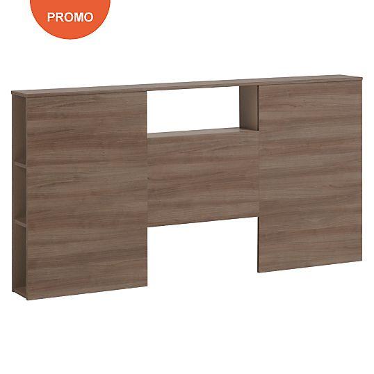 Lit complet Paddock 140 x 190 cm - Lits avec rangements - Lits pratiques - Chambre Rangement
