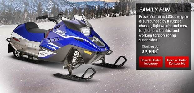 2018 Yamaha SRX 120 Snowmobile Specs, Price and Reviews
