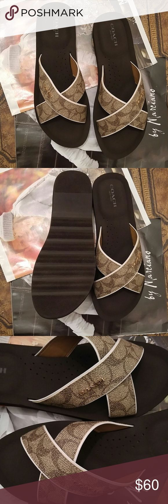 classic coach bags outlet fmie  Coach Janine sandals Brand new coach sandals! Open to reasonable offers!  Bundle for discounts