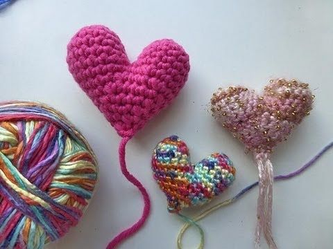 Crochet with eliZZZa * Crochet Amigurumi Heart for Mothers Day