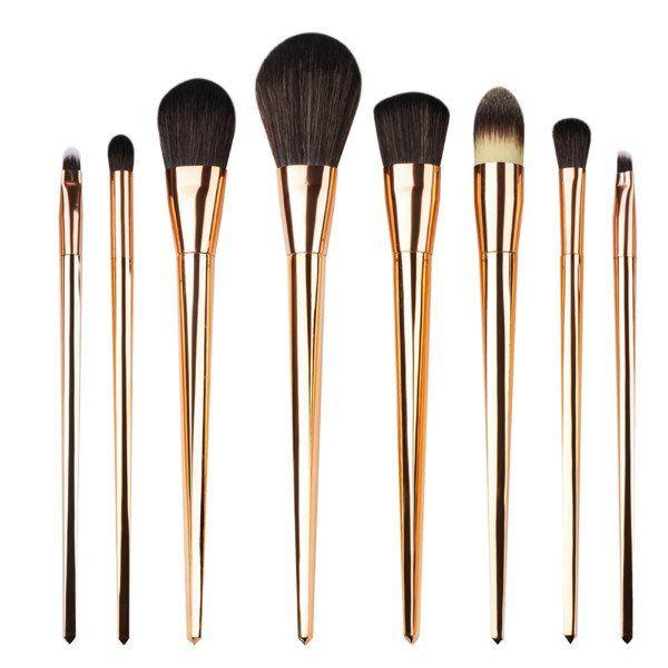 Gold/Black Brushes