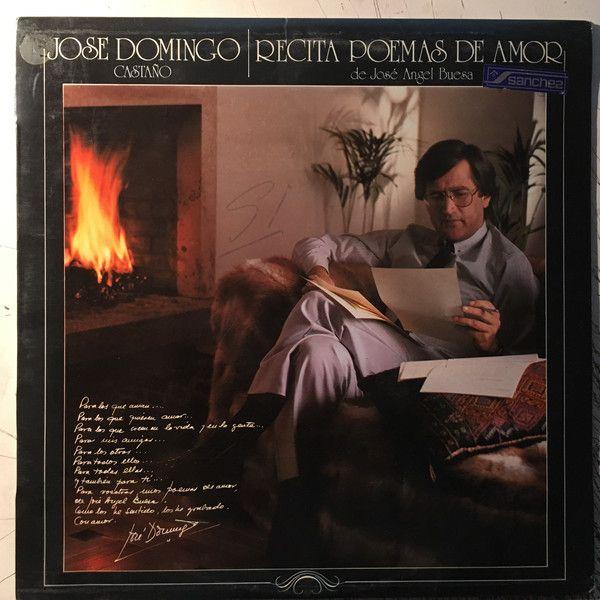 Jose Domingo Castaño - Recita Poemas de Amor (Vinyl, LP, Album) at Discogs
