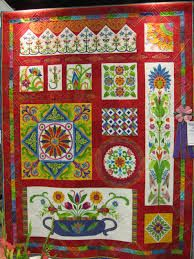 83 best Mexican quilts images on Pinterest | Autumn home, Carpets ... : mexican quilt - Adamdwight.com