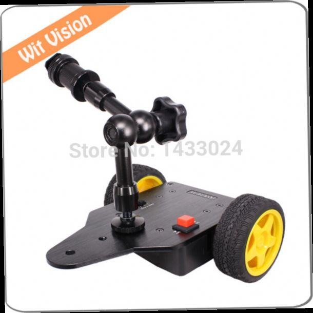 55.00$  Watch here - http://alib0i.worldwells.pw/go.php?t=32273838855 - Motorized Camera Slider Dolly Cart With 7 Inch Magic Arm for DSLR GoPro