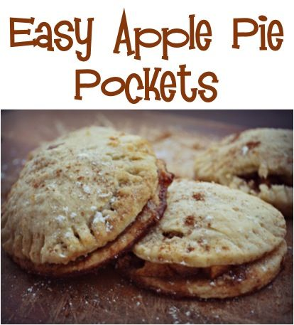 This Apple Pie Pockets Recipe makes individual pieces of goodness, filled with a traditional apple cinnamon filling and the crust is homemade, flaky & soft.