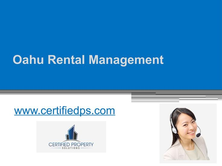 Get the reliable Oahu rental management with http://www.certifiedps.com/ and overcome the challenge of finding good tenants for your rental property. http://issuu.com/certifiedps/docs/oahu_rental_management_-_www.certif?workerAddress=ec2-54-175-99-186.compute-1.amazonaws.com