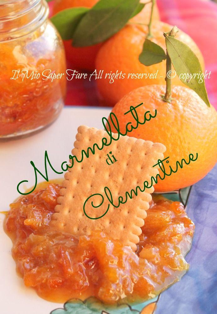 Marmellata clementine o mandarini