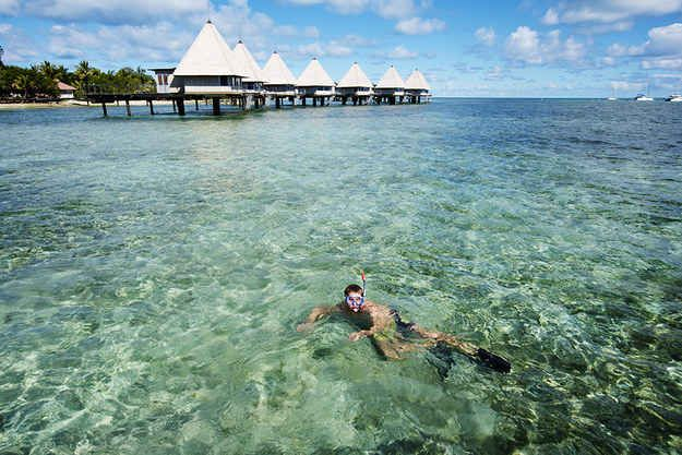 You can snorkel, surf, and kite surf.