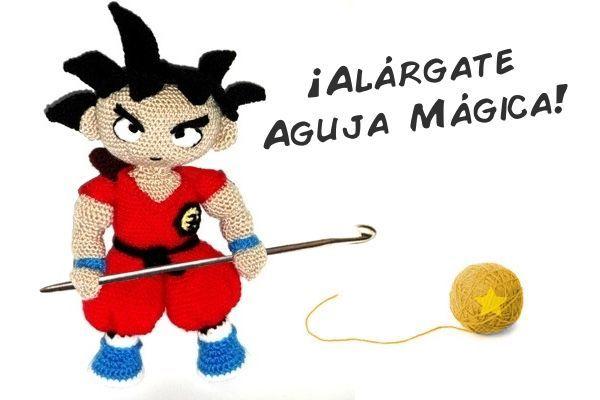 Patrón Son Goku (Dragon Ball) – Sueños Blanditos