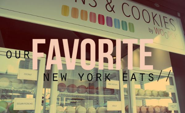 Our Favorite New York Eats