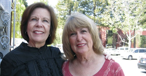 Susan and Marilyn have been delivering meals together for the past twenty years.