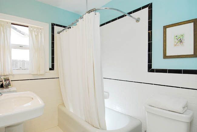 Pictures of home renovation and bathroom on pinterest for Bathroom ideas 1920 s