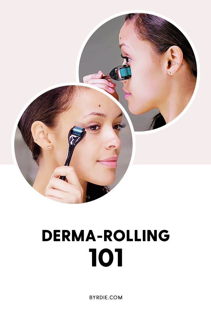 How to use a derma-roller