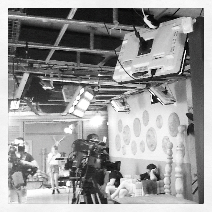 Behind the scene of the Expresso Morning Show on SABC3