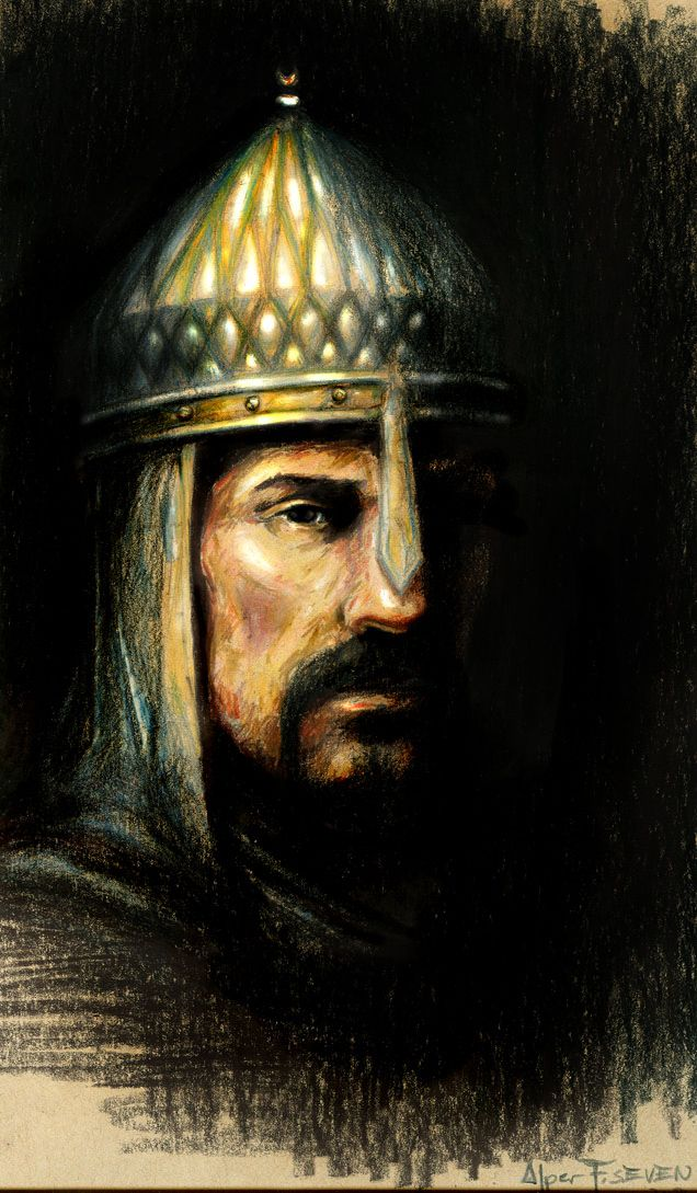 Alp Arslan, Sultan of Seljuk Empire defeated the Byzantine Emperor Romanos IV Diogenes at the Battle of Manzikert 1071. The result of this disastrous defeat was, in simplest terms, the loss of the Eastern Roman Empire's Anatolian heartland.