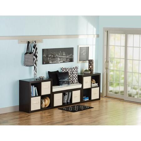 Better Homes and Gardens 11-Cube Organizer, Wall Unit, Multiple Colors - Walmart.com