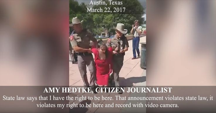 Video: Texas Citizen Journalist Arrested For Legally Filming Public Meeting