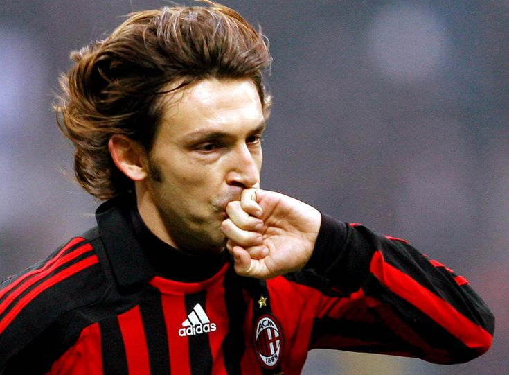 Andrea Pirlo Long Hairstyles Picture