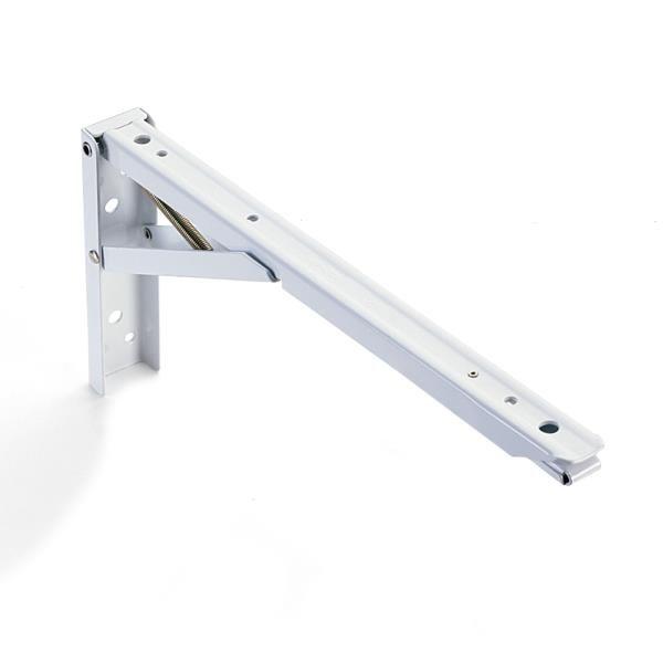 "Buy Folding Shelf Bracket 8"", Pair at Woodcraft.com"