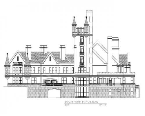 balmoral castle plans luxury home plans home house