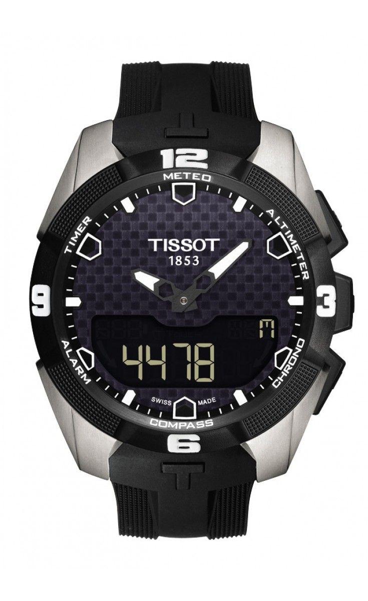 TISSOT T-TOUCH EXPERT SOLAR  L'orologio Tissot T-Touch Expert Solar è in grado di coniugare il design sportivo con uno stile intramontabile. Questo modello è il primo al mondo a essere un orologio tattile ad energia solare. Tra le venti funzioni dell'orologio, sono comprese meteo di precisione, altimetro e bussola. Chi lo indossa, porta sempre con sè The Power of Light.
