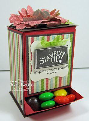candy dispenser & pattern
