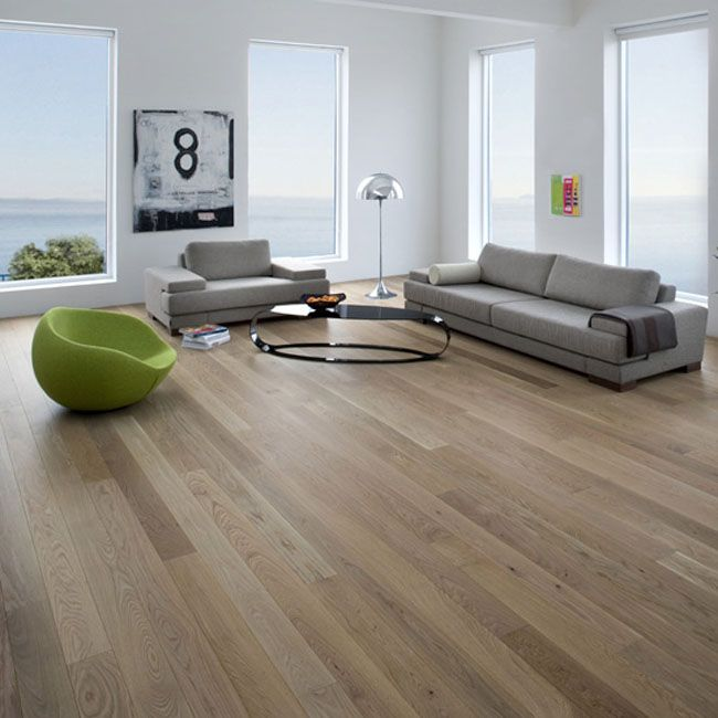 Natural Matte Finish Hardwood Flooring In My