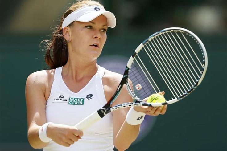 Agnieszka Radwanska #wimbledon #tennis