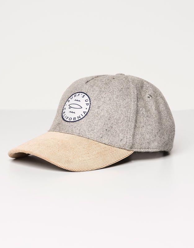 Pull&Bear - woman - caps & hats - baseball cap - grey marl - 05831307-V2016