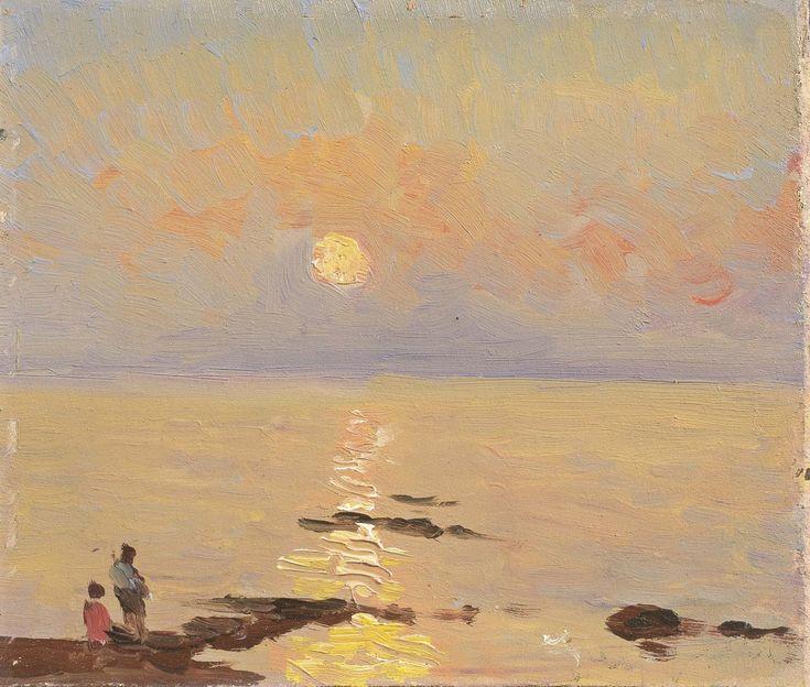 Giovanni Lomi   Post-Macchiaioli painter  
