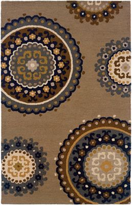 The Earthen Appeal Of #Havertys Surabaya Area Rug Sets The Scene For A  Naturalist Space