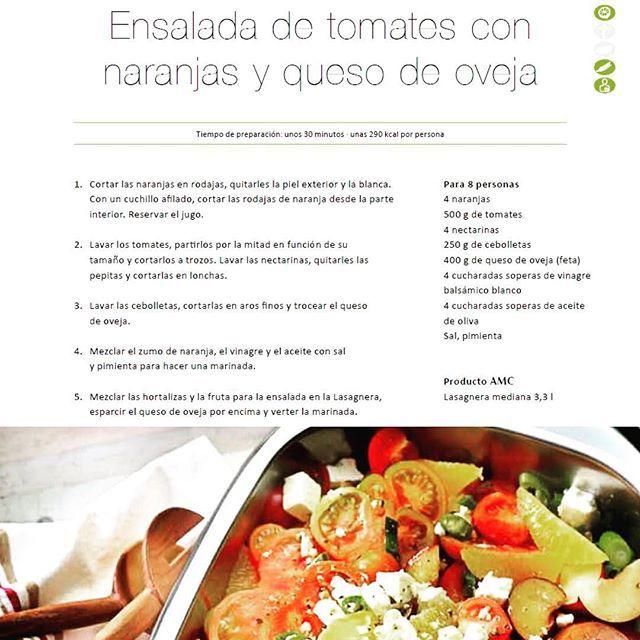 Ensalada de tomates con naranjas y queso de oveja¡Recetas frescas para un verano caluroso!