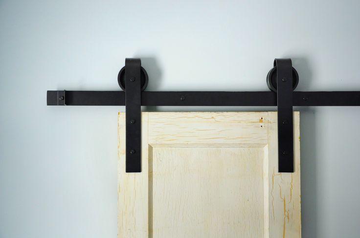 Traditional Sliding Barn Door Hardware Kit - Single Door