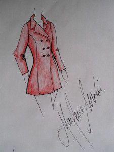 Modelagem de casaco trench coat do 38 ao 54.